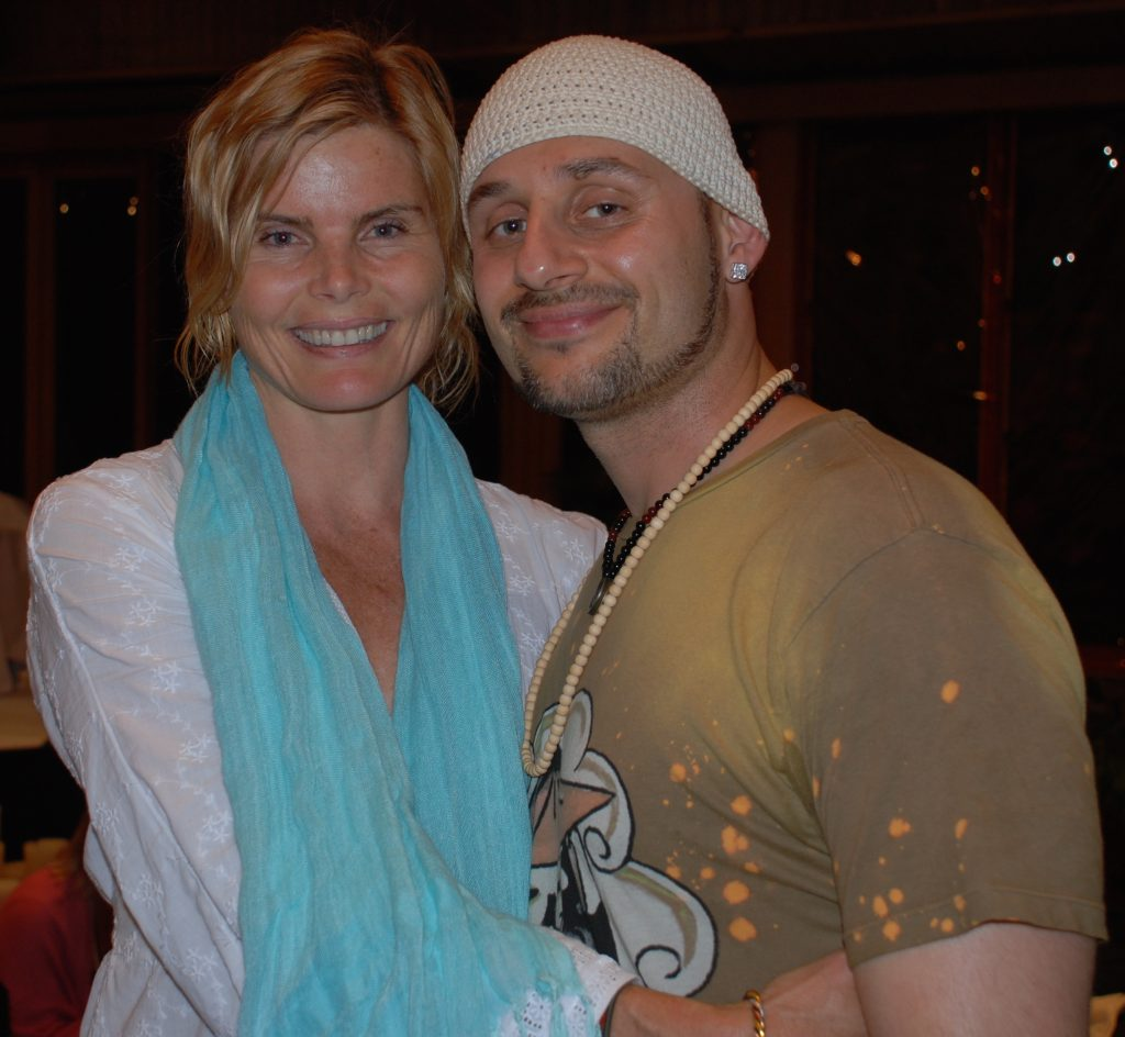 Dr Dan Ardebili with Actress and Author Mariel Hemingway